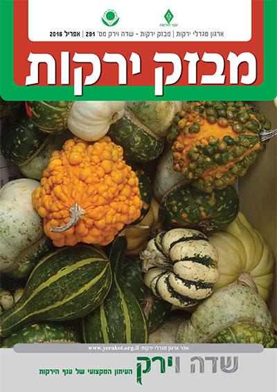 מבזק ירקות – חודש אפריל 2016