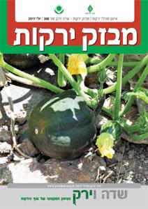 מבזק ירקות – חודש יולי 2017