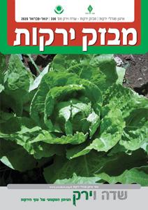 מבזק ירקות – חודשים ינואר + פברואר 2020